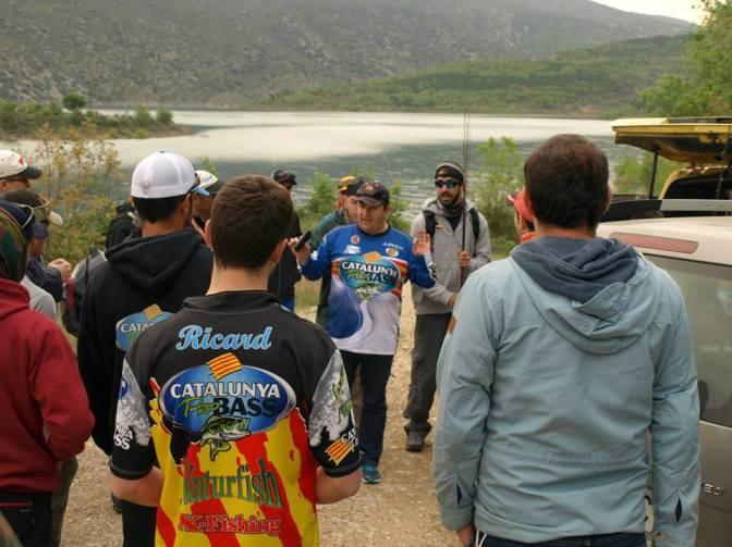 Campeonato de Catalunya de Black Bass orilla 2015 ¡Campeones!